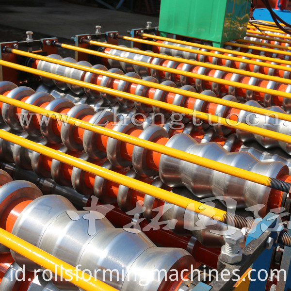 Double Layer Roll Forming machine (3)